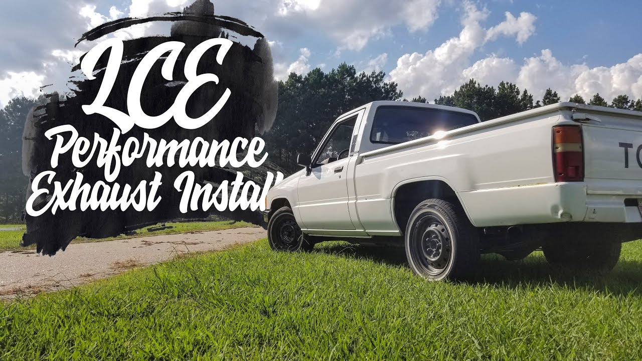 LCE Street Header Kit 2WD Direct Fit 22R/RE 1985-1995