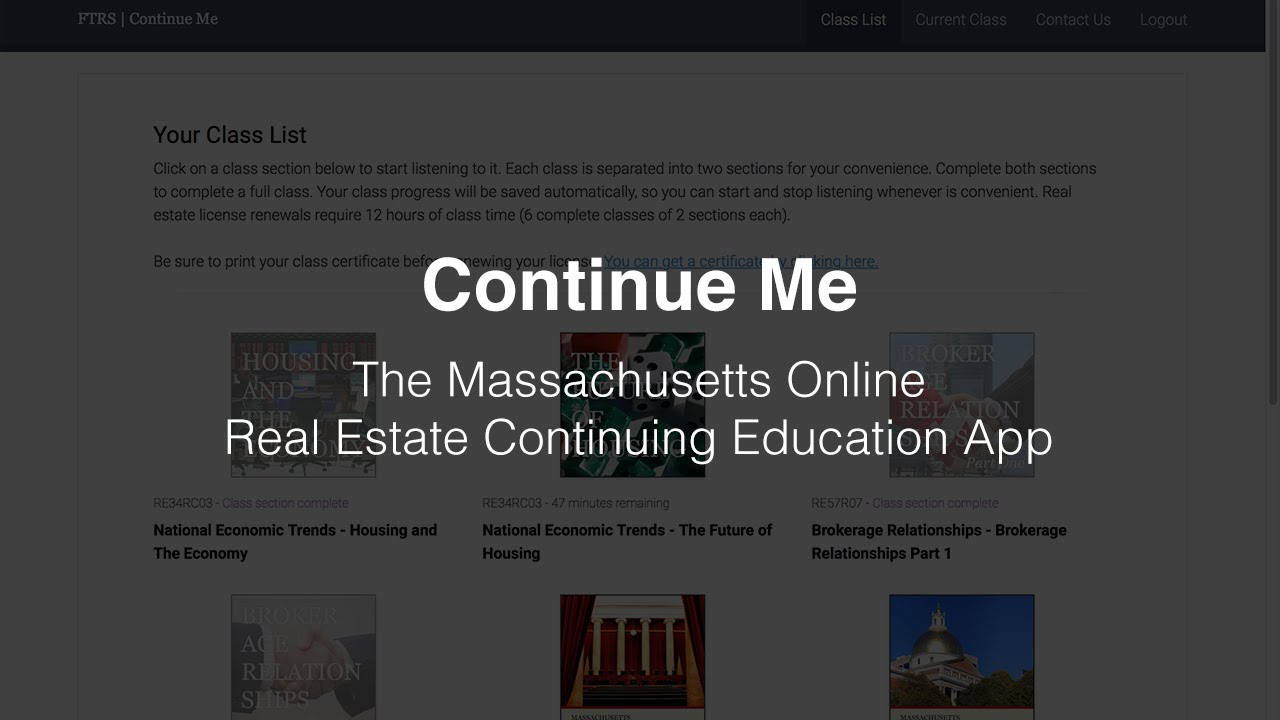 Online Real Estate CE Classes | Freedom Trail Realty School