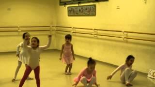 Мири - Открытый урок на кружке балета - 3