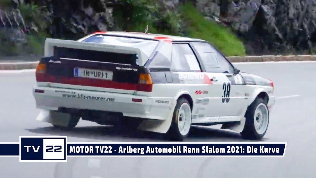 MOTOR TV 22: Arlberg Automobil Renn Slalom 2021 - Die Fahrzeuge in der Kurve