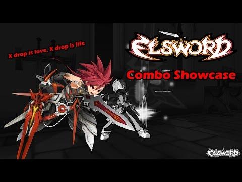 Elsword - Infinity Sword Combo/X Drop Showcase
