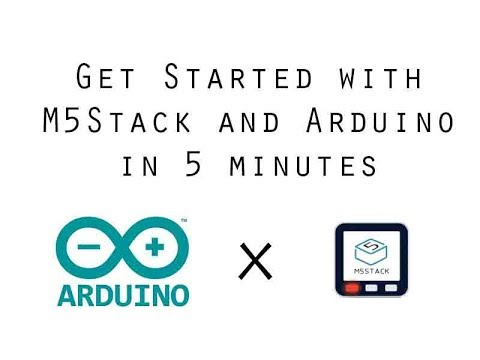 M5Stack Arduino IDE Setup in 5 minutes