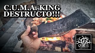 Work Tuff Gear CUMA King Destructo!!!  From Camp to Cooking!!