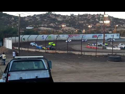 IMCA Modified heat 1 barona speedway 10-21-17
