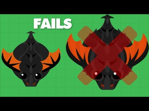 How To NOT Get KING DRAGON - Mope.io Fails And bests Moments + 1v1s