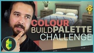 COLOUR PALETTE Build Challenge | The Sims 4