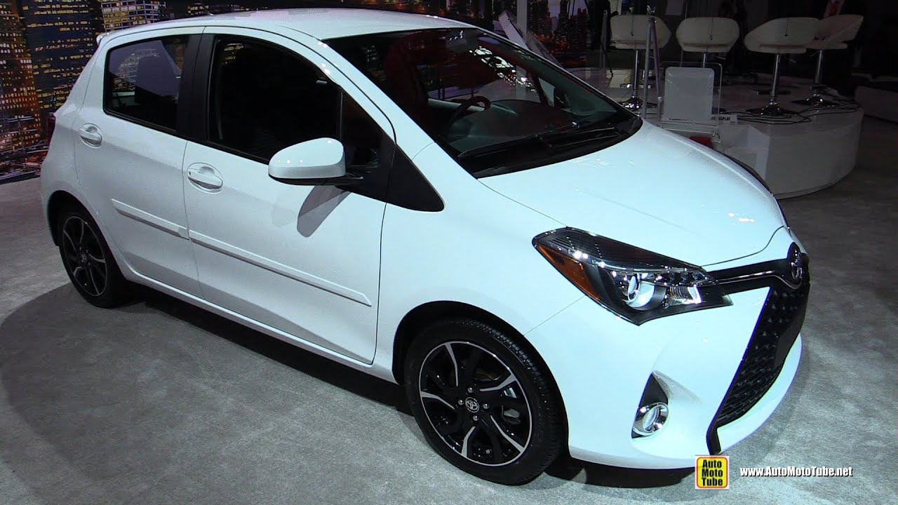 2016 Toyota Yaris   Exterior And Interior Walkaround   2016 New York Auto  Show   YouTube