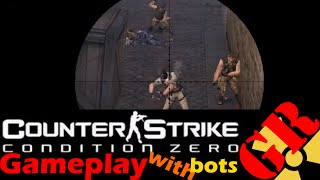 Counter-Strike: Condition Zero gameplay with Hard bots - Italy - Counter-Terrorist