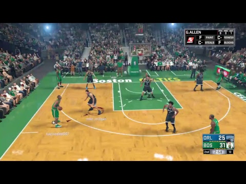 B.U.N.  Magics vs Celtics