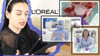 L'Oreal не тестирует продукцию на животных?