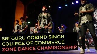 Spectacular Performance by 'Misba' the Western Dance Crew of Sri Guru Gobind Singh College at Zone