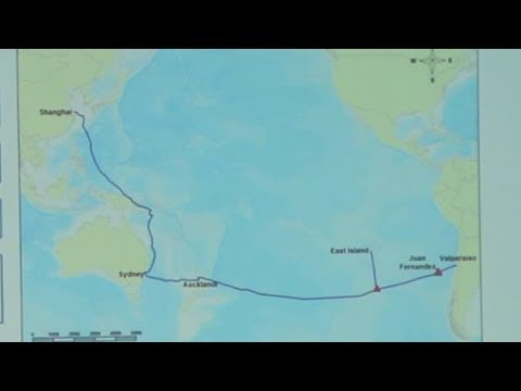 Chile and China could be joined by underwater fiber optic cable