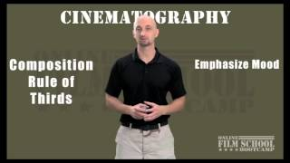 Composition Rule of Thirds - Cinematography filmmaking tips for beginning filmmakers