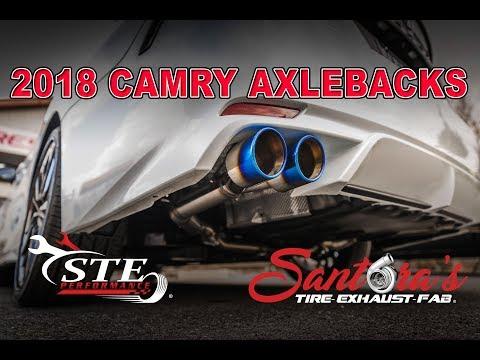 2018 Toyota Camry XSE V6 Custom Exhaust