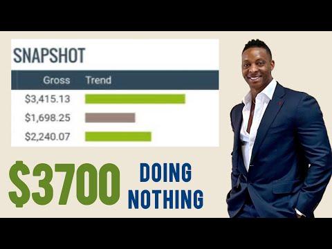 Earn $3700 Doing Nothing (NEW WEBSITE) Make Money Online 2021