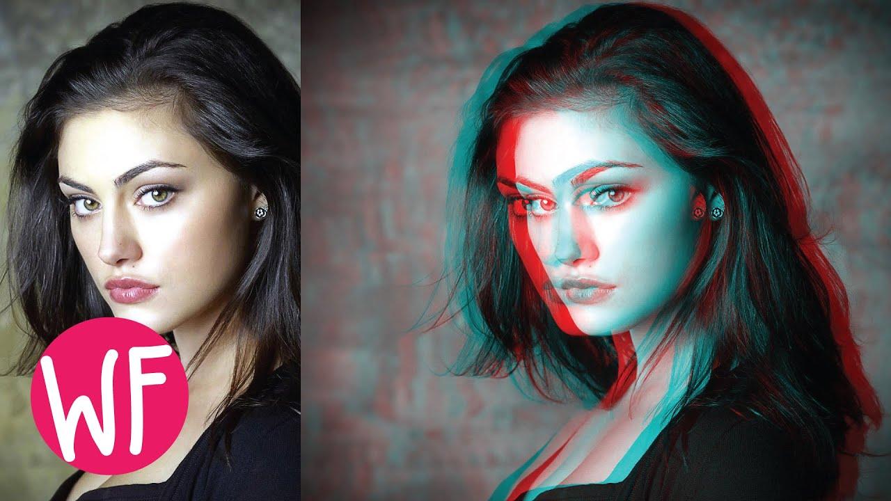 Photoshop tutorial 3d image in photoshop cs6 youtube baditri Image collections