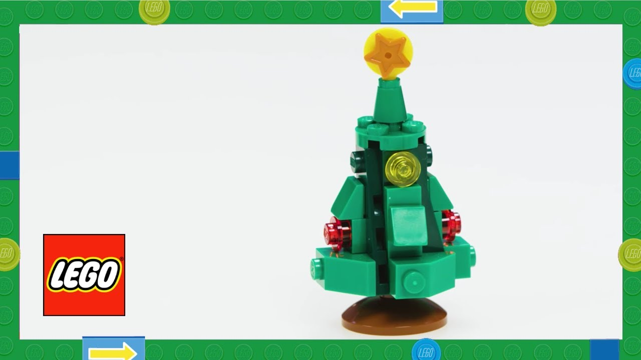 How To Make A LEGO Christmas Tree