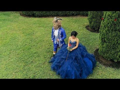 ec790cb30 Beauty & The Beast - Jaylene's Quinces - YouTube