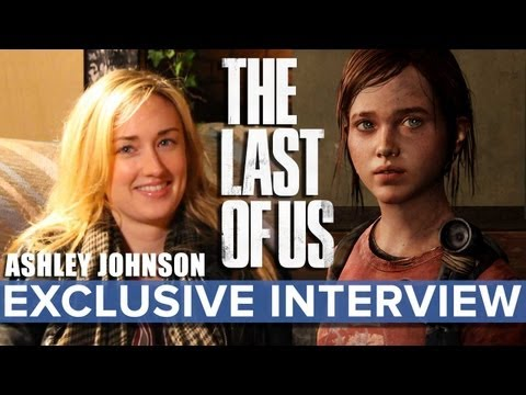The Last Of Us - Ashley Johnson (Ellie) EXCLUSIVE Interview - Eurogamer