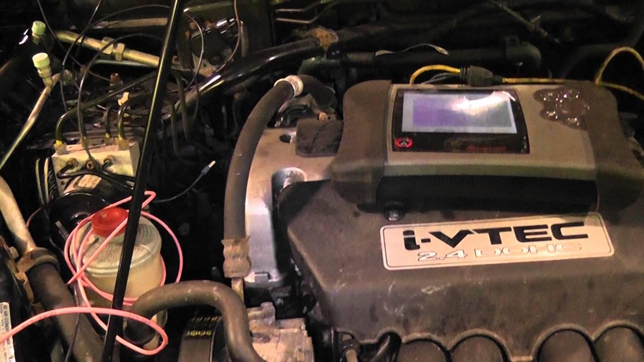 HONDA F CAN NO COMMUNICATION CODES AND A P1157 AIR FUEL RATIO SENSOR - YouTube