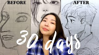 Download I DREW FOR 30 DAYS to see how much I would improve