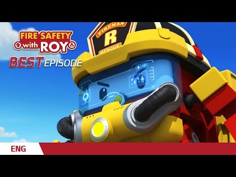 ⭐Best Episodes │🚒Fire Safety With ROY│Robocar POLI TV