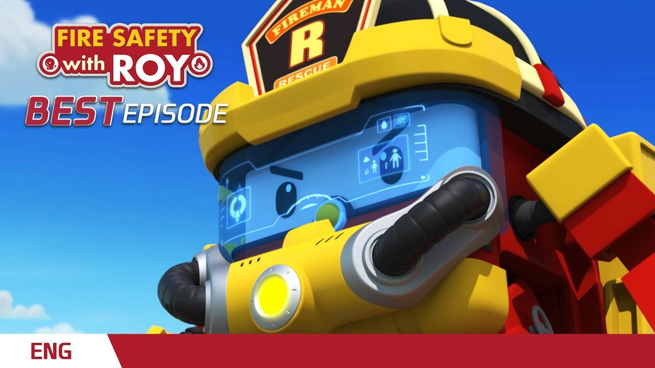 Download ⭐Best episodes │🚒Fire Safety with ROY│Robocar POLI TV