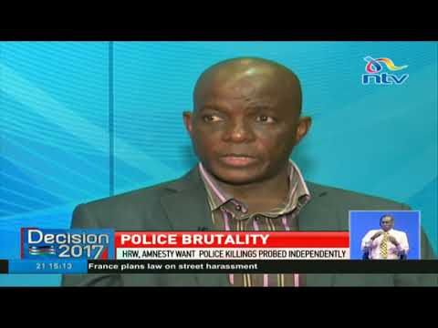 Amnesty International wants police killings probed independently