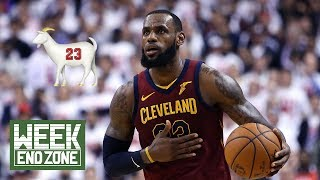 Has Lebron James FINALLY Settled The GOAT Debate? | Weekend Zone