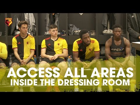 INSIDE THE DRESSING ROOM | INCREDIBLE ACCESS ALL AREAS ON A MATCHDAY