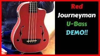 Kala Journeyman U-Bass with Round Wound Strings - Demo
