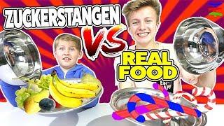 Zuckerstangen vs Real 🎅 Abgedrehte  X-mas Edition 🎄 TipTapTube
