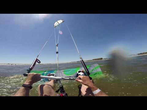 Kiting with Turbine in 12 mph.