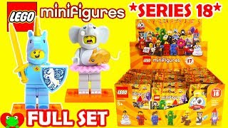 Lego Minifigures Series 18 Full Set 71021
