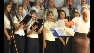 Винницкой молодежный хор ХВЕ Старогородский Иерусалим под звездами спит