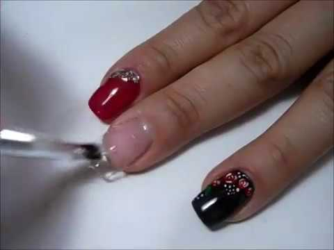 video ricostruzione unghie gel