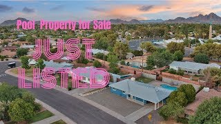 Just Listed - 6509 N. 16th Drive, Phoenix, Arizona 85015 - Maryland Gardens Pool Property For Sale