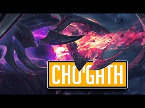 League of Legends #587: Cho'Gath Jungle (CZ) thumbnail