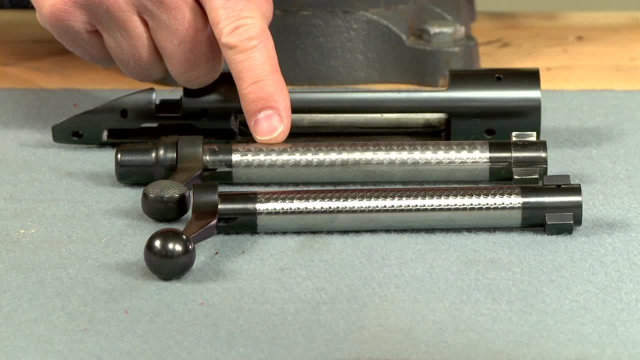 Gunsmithing How To Jewel A Rifle Bolt Presented By Larry Potterfield Of Midwayusa Youtube