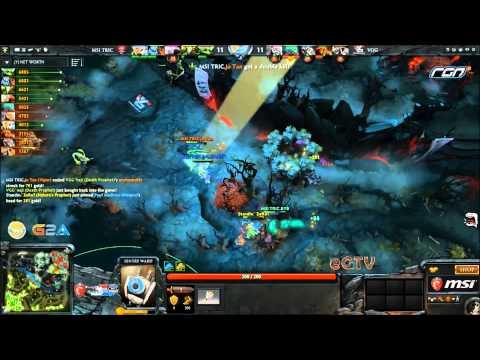 Dota 2- MSI Beat It RGN League Wildcard : MSI Tric vs Vengeance Gaming