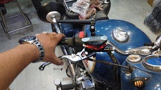 Advanced Lever Set For Any Motorcycle - King Indian
