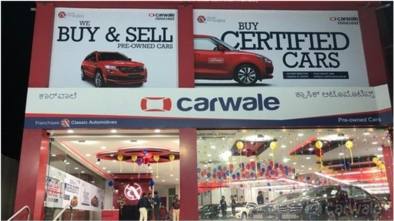 carwale launches first pre-owned car franchisee in bangalore | car