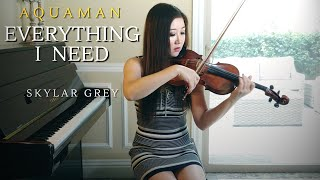Everything I Need - Violin Cover (Aquaman Soundtrack, Skylar Grey) by Michelle Jin