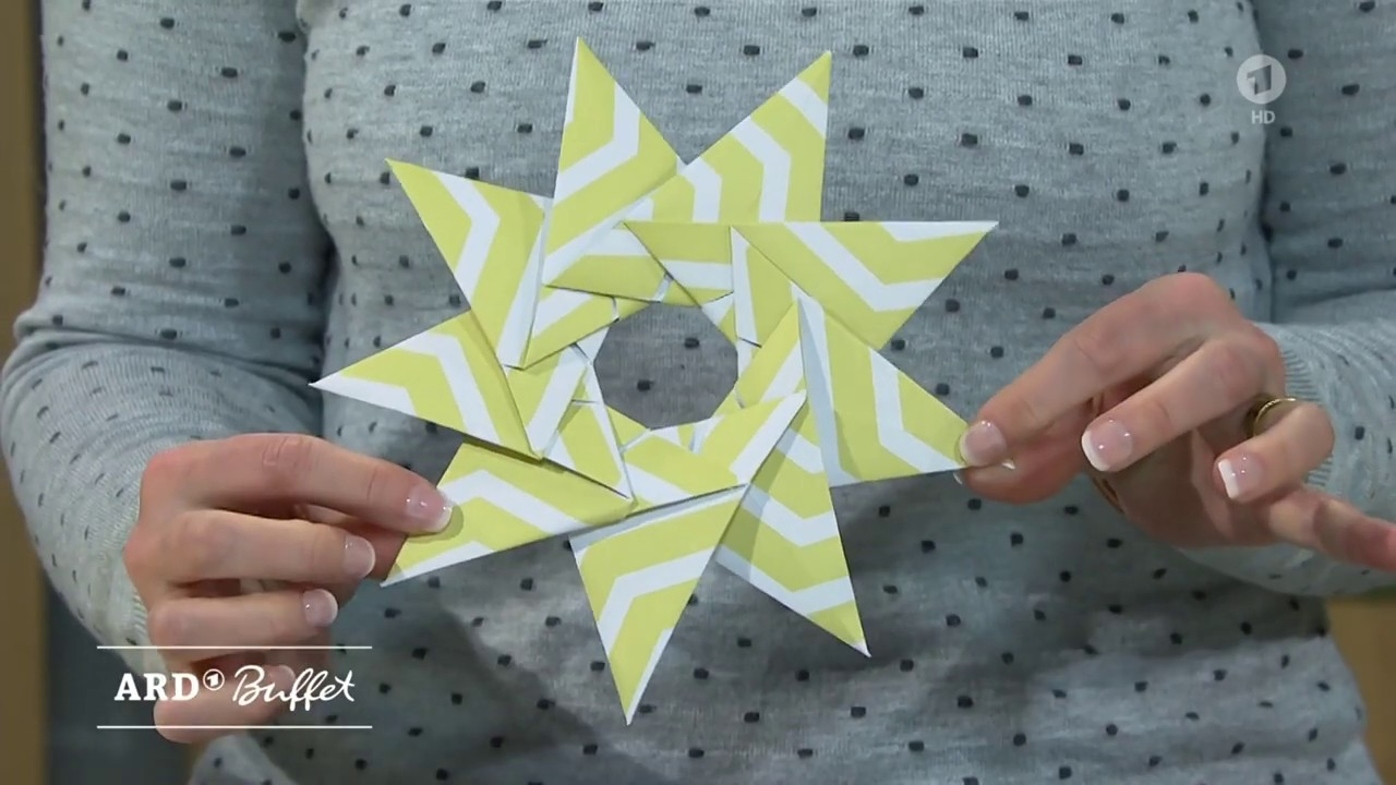 Ardswr Buffet Kreativ Origamisterne Falten