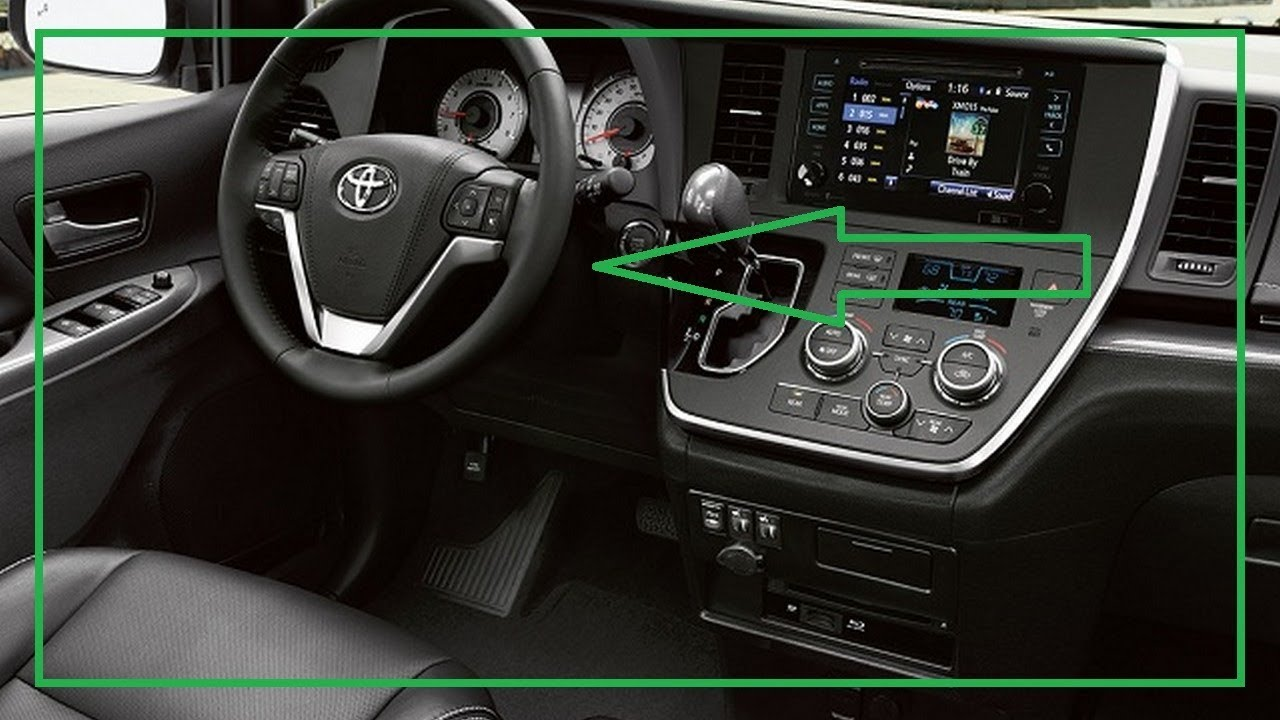 2018 Toyota Sienna Hybrid Interior And Exterior Look This Youtube