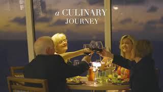Лакшери круизы от компании Crystal Cruises. Люксовые рестораны и люксовая еда в морских круизах