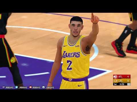 NBA 2K19 | 2K18 PC Overhaul | Hawks & Lakers | Rosters, Scoreboard, Cyberfaces, Jerseys | 4K w/Mods