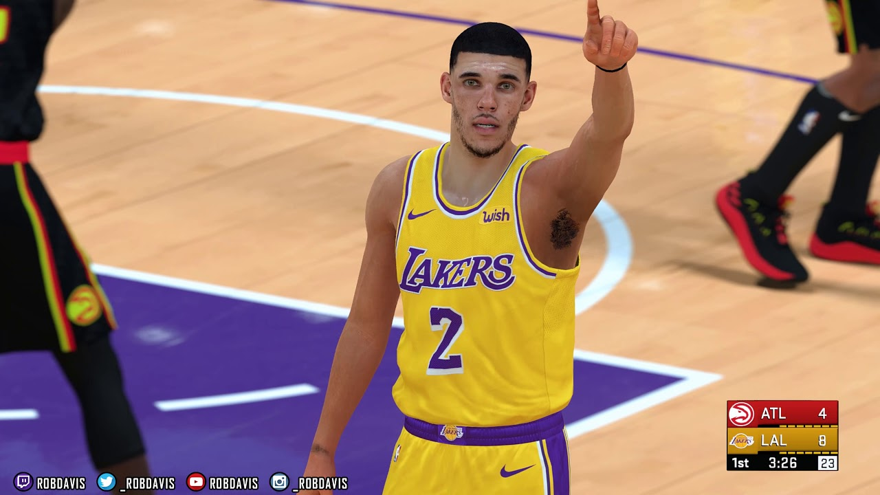 finest selection 71273 ca396 NBA 2K19 | 2K18 PC Overhaul | Hawks & Lakers | Rosters, Scoreboard,  Cyberfaces, Jerseys | 4K w/Mods