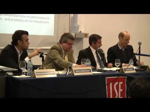 1st LSE Hellenic Forum: Grexiting the Social Crisis
