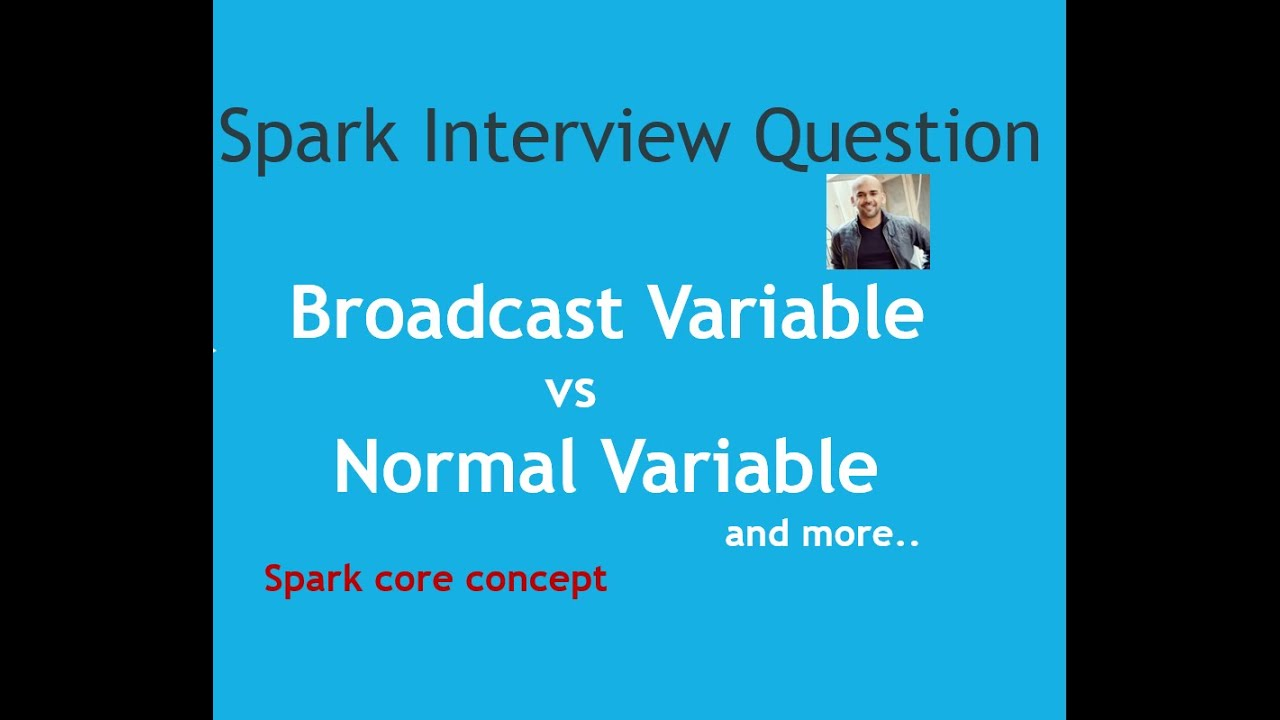 Broadcast variable in Spark  Shared variable  Spark Interview Question    Spark tutorial